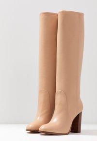 Cosmoparis - SILONI - High heeled boots - nude - 4