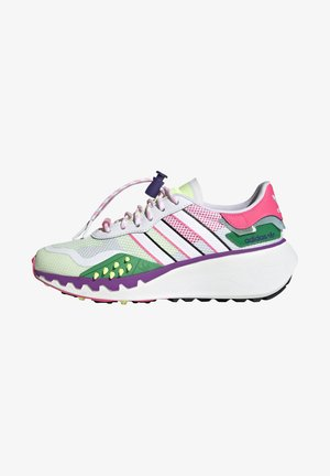 CHOIGO RUNNER - Sneakers laag - footwear white/solar pink/shock purple