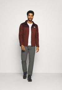 The North Face - GORDON LYONS FULL ZIP - Fleece jacket - brown - 1