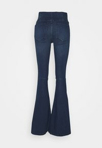 Free People - FLARE PENNY PULL ON - Flared Jeans - rich blue - 1