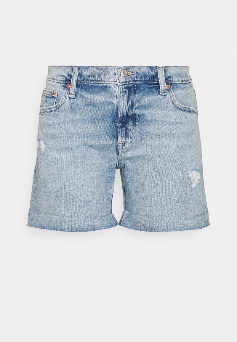 GAP Petite - DEST - Denim shorts - light pacific