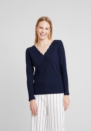 CORTO - Long sleeved top - bleu marine