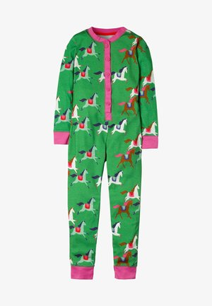 BEQUEMER - Pyjamas - grün, pferde