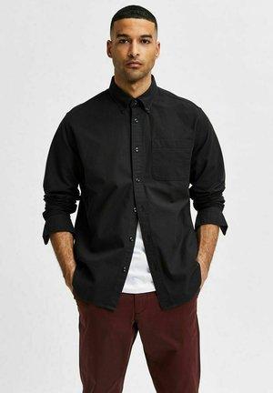 SLHREGRICK FLEX - Shirt - black