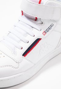 Kappa - MANGAN - Sports shoes - white/red - 2