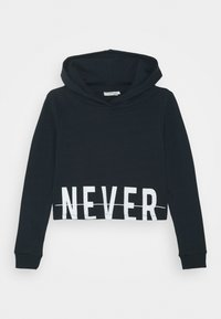 Name it - NKFVIALA CROPPED - Hoodie - dark sapphire - 0