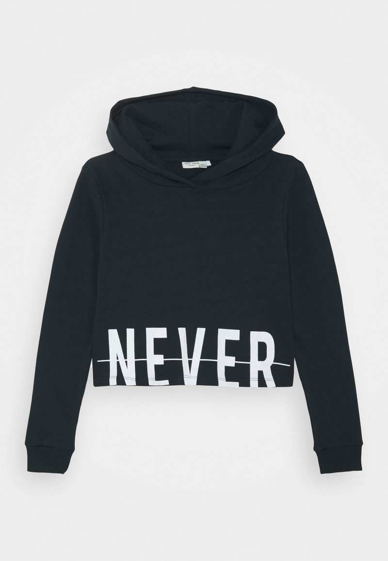 Name it - NKFVIALA CROPPED - Hoodie - dark sapphire