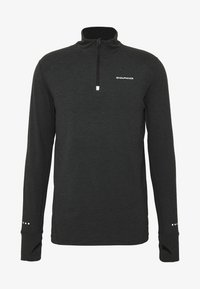 Endurance - ABBAS PRINTED MIDLAYER - Sports shirt - black - 4