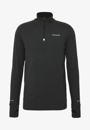 ABBAS MIDLAYER - T-shirt de sport - black