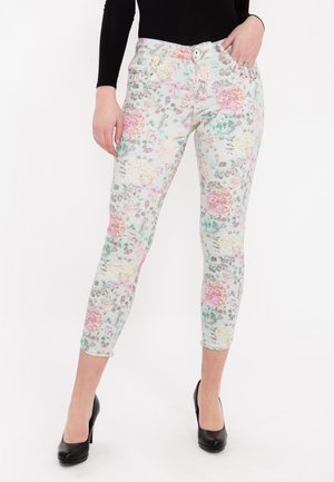 Slim fit jeans - bedruckt