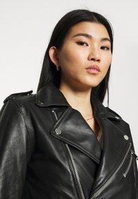 Deadwood - RIVER ORIGINAL - Leather jacket - black - 3