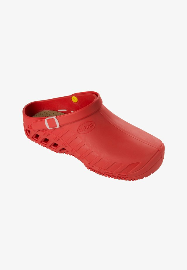 PROFESSIONAL LINE CLOG EVO - Pantoffels - red