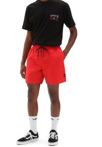 Vans - MN PRIMARY VOLLEY II - Shorts - high risk red - 0