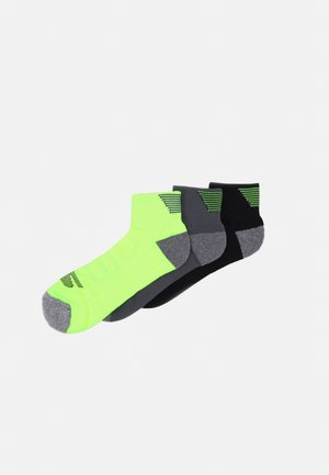 MENS PERFORMANCE QUARTER 6 PACK - Sports socks - safety yellow mix