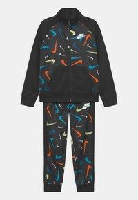 Nike Sportswear - PRINT SET UNISEX - Training jacket - black - 0