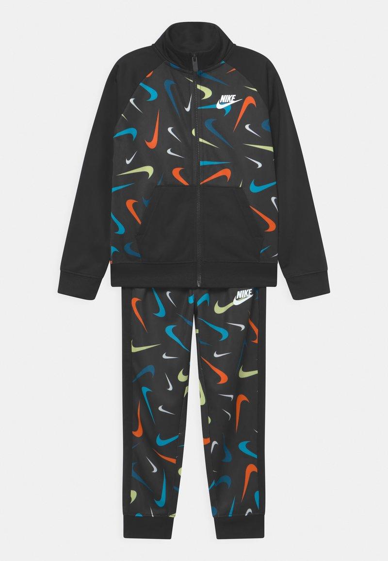 Nike Sportswear - PRINT SET UNISEX - Training jacket - black
