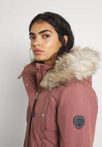 ONLY - ONLIRIS  - Zimní kabát - burlwood - 4