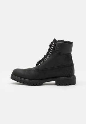 6 IN PREMIUM WARM - Winter boots - black