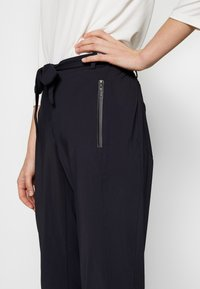 comma - TROUSERS - Bukser - ink blue - 6