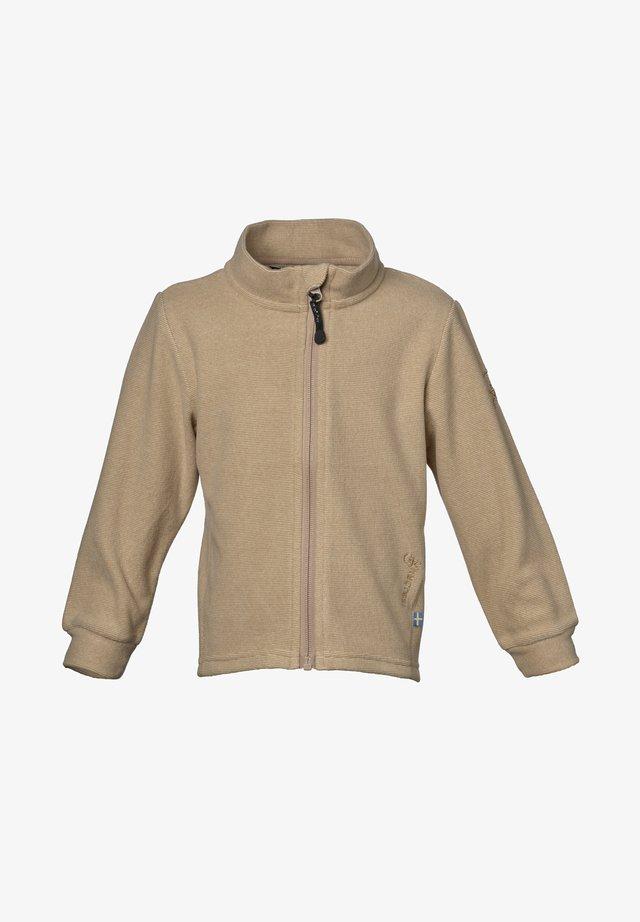 LYNX - Fleece jacket - oat