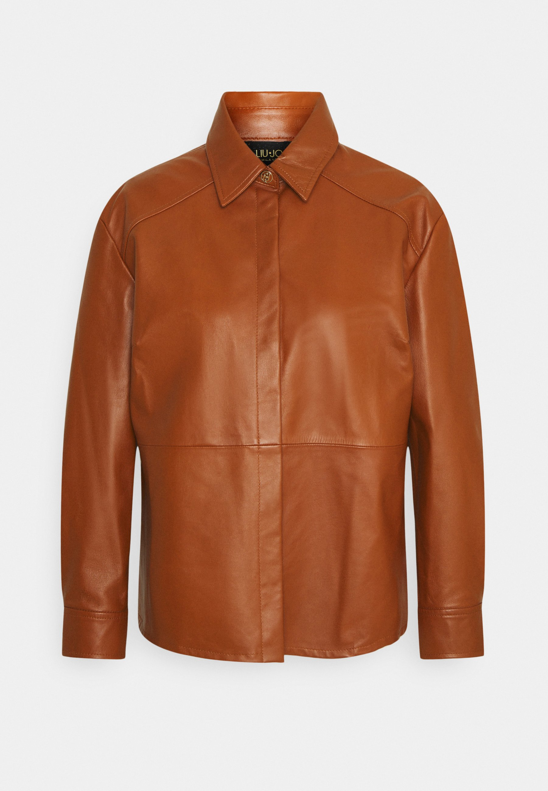 Women GIACCA CAMICIA - Leather jacket