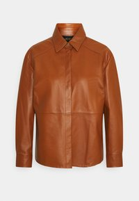 LIU JO - GIACCA CAMICIA - Leather jacket - cuir - 0