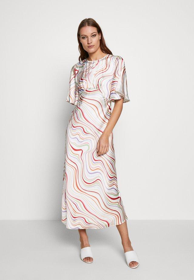 MY WAY DRESS - Kjole - ivory rainbow