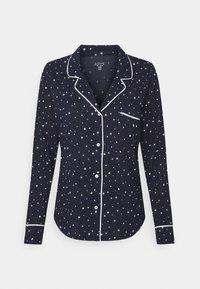 PIPING - Pyjama top - navy