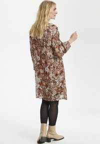 Cream - Day dress - vintage rose print - 3