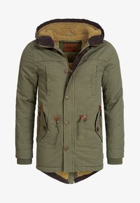 INDICODE JEANS - Winter coat - dark green - 8