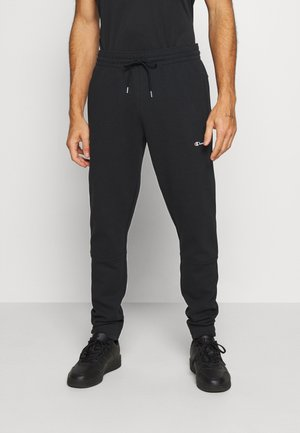ELASTIC CUFF PANTS - Pantalon de survêtement - black