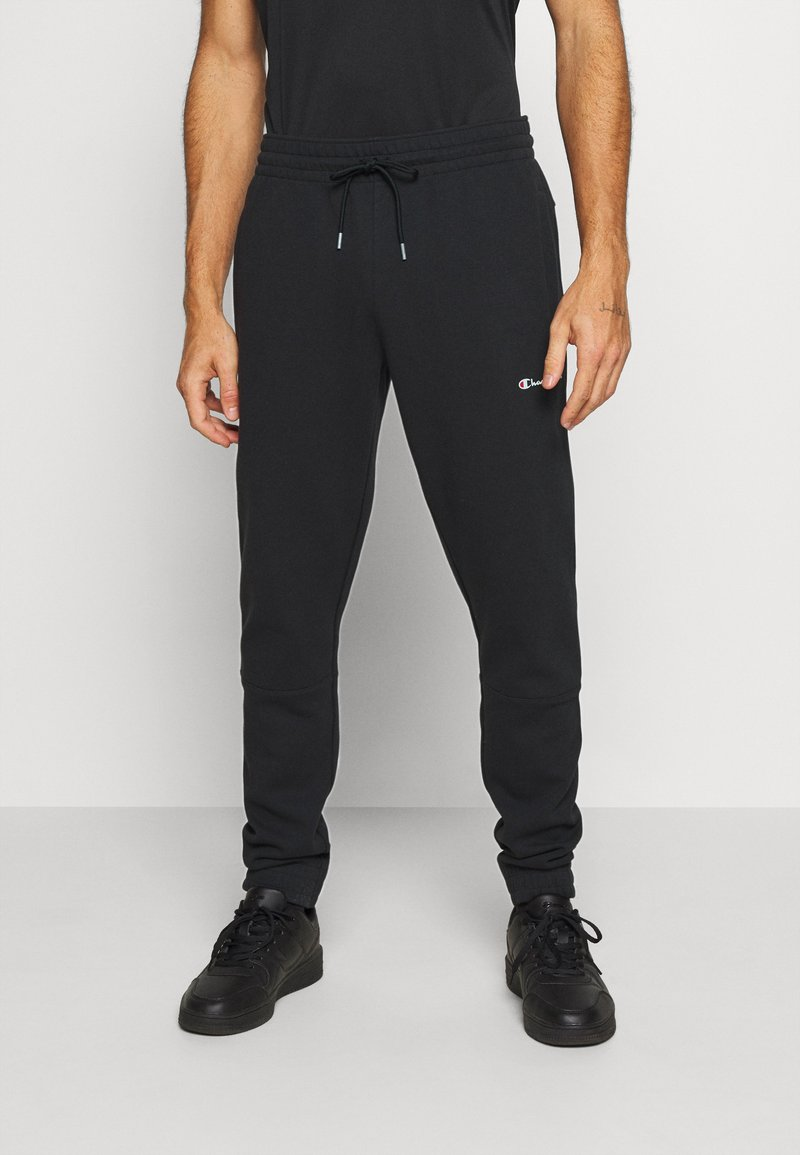 Champion - ELASTIC CUFF PANTS - Træningsbukser - black