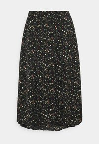 Glamorous Curve - SMUDGE SKIRT - A-line skirt - black smudge print new - 3