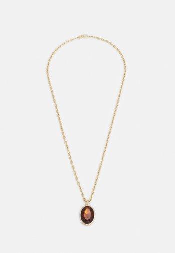 PENDANT NECKLACE - Kaulakoru - gold-coloured