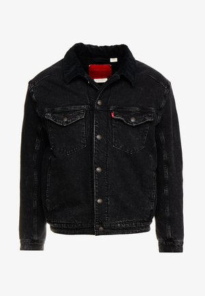 TRUCKER - Denim jacket - midnight saros