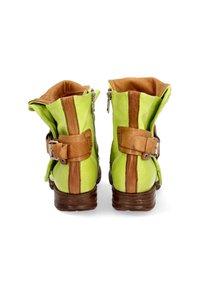 A.S.98 - Cowboy/biker ankle boot - acido - 5