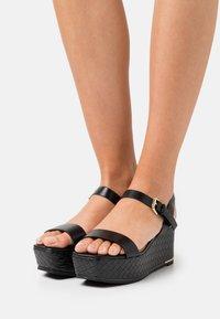 ALDO - ELOINIEL - Platform sandals - black - 0