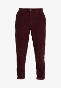 1904 - TAPERED - Trousers - red - 4
