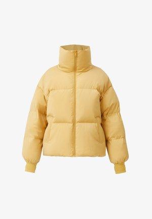 Down jacket - mustard