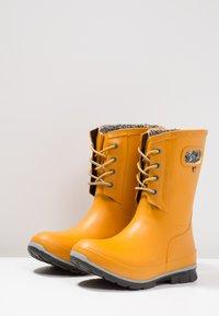 Bogs - AMANDA PLUSH - Regenlaarzen - mustard - 2