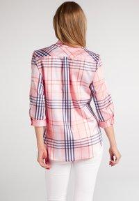 Eterna - Button-down blouse - rosa/blau - 1