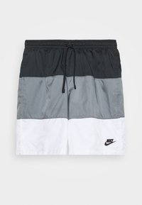Nike Sportswear - Shortsit - black/smoke grey/white - 4