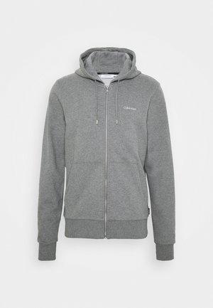 veste en sweat zippée - grey heather