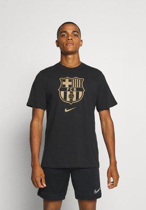 FC BARCELONA - Club wear - black/truly gold
