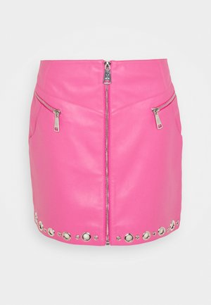 MOISE SKIRT - A-Linien-Rock - radical pink