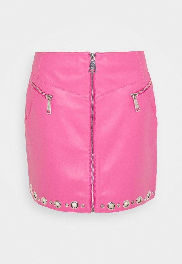MOISE SKIRT - Minikjol - radical pink