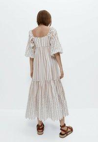 Uterqüe - Maxi dress - multi coloured - 2