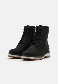 Timberland - LUCIA 6 IN WARM LINED BOOT WP - Lace-up ankle boots - black - 2