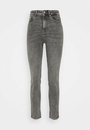 Straight leg jeans - medium grey denim