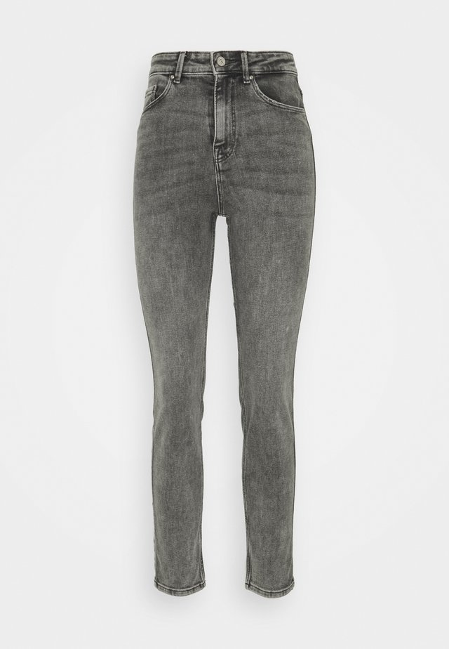 Straight leg jeans - medium grey denim